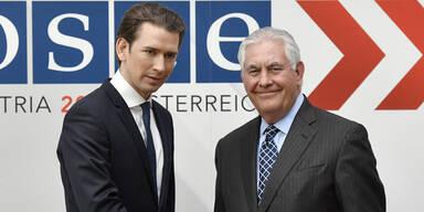 "Tillerson lobt ""Prime Minister"" Kurz"