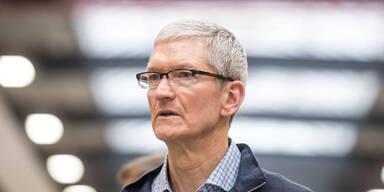 Apple-Chef Tim Cook