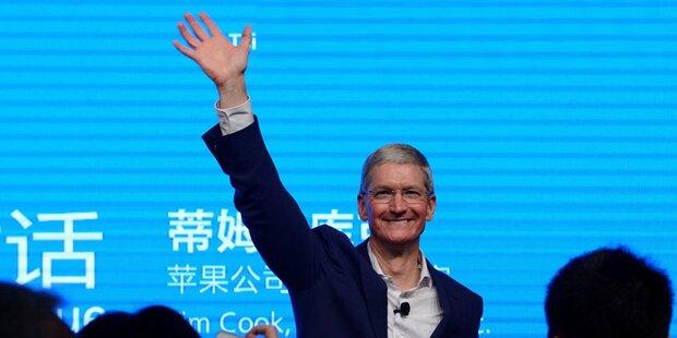 Apple-Chef bereist erstmals Indien