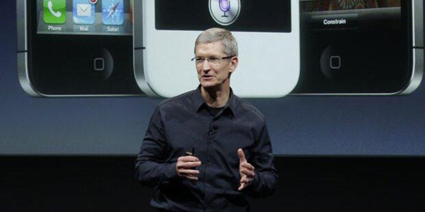 Apple-Chef reagiert auf Zeitungsbericht
