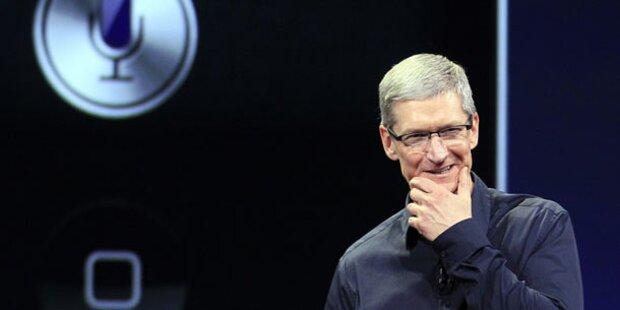Apple-Chef entschuldigt sich für Karten-Fehler
