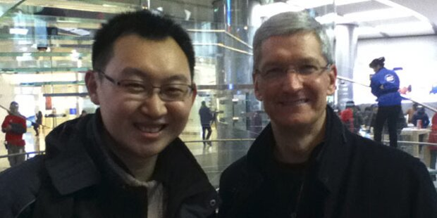Apple-Chef ist erneut in China