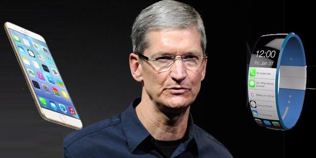 Mega-Event für iPhone 6 und iWatch