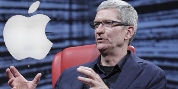 Apple kürzt Chef-Gehalt um 2 Millionen Dollar