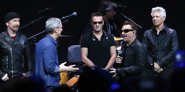 U2 und Apple auf Rekordjagd