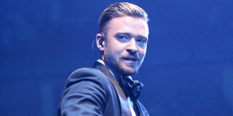 Timberlake im Wien-Anflug