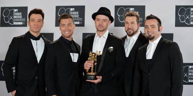 Justin Timberlake ist Abräumer des Abends