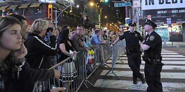 Drei Festnahmen wegen Times Square-Bombe