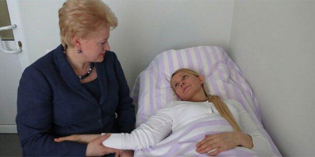 Timoschenko bricht aus Protest Behandlung ab