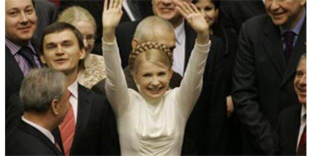 Timoschenko neue Regierungschefin der Ukraine