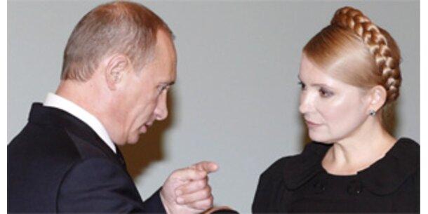 Putin und Timoschenko einigen sich im Gas-Streit