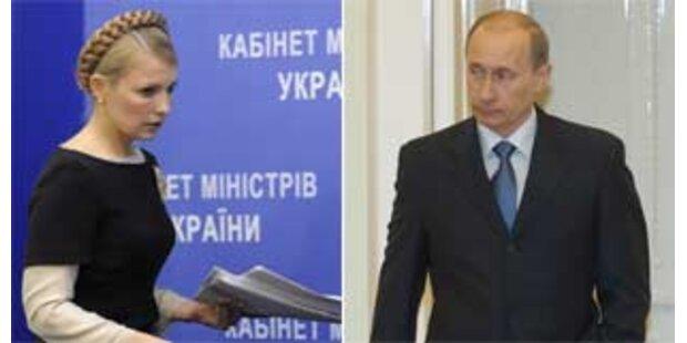 Russland und die Ukraine legen Gas-Streit bei