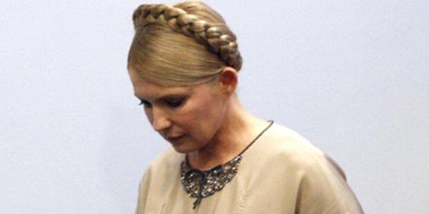 Rätselhafte Krankheit bei Timoschenko