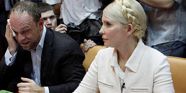 Timoschenko beteuert ihre Unschuld