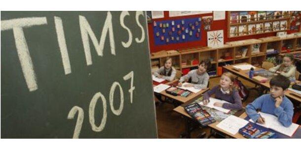 Der Timss-Test für die 8. Schulstufe - die Fragen