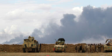 ISIS setzt Ölfeld bei Tikrit in Brand