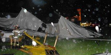 Wetter-Chaos im Tiroler Unterland : Gewitter und Sturm führten zu heftigen Schäden