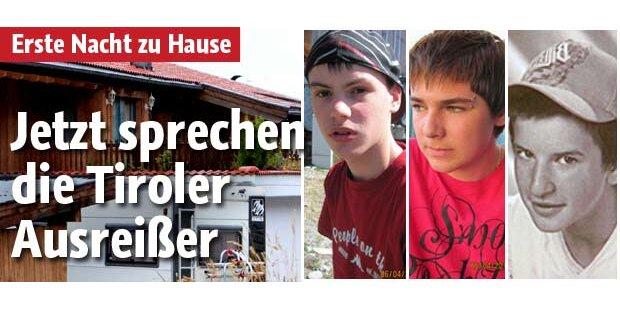 Jetzt sprechen die Tiroler Ausreißer