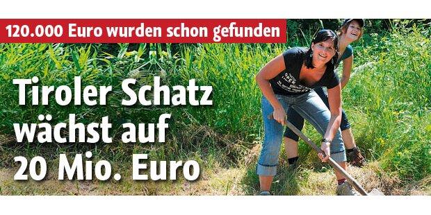 Tiroler Schatz soll 20 Mio. wert sein