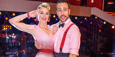 Silvia Schneider Danilo Campisi bei Dancing Stars