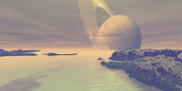 Wellen auf Saturnmond Titan