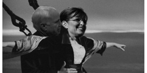 Stimmung wie auf der Titanic im McCain-Lager