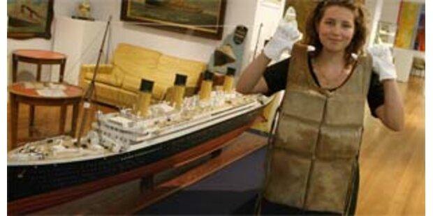 Titanic-Rettungsweste um 44.000 Euro versteigert