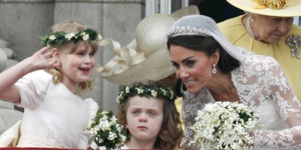 Windsor-Hochzeit: Kids als heimliche Stars