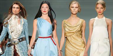 New York Fashion Week Große Designer