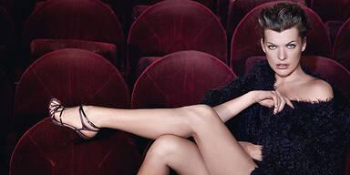 Milla Jovovich für Escada