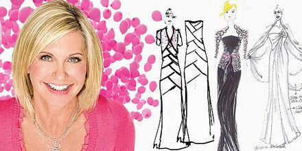 Welche Robe wird Olivia Newton-John tragen?