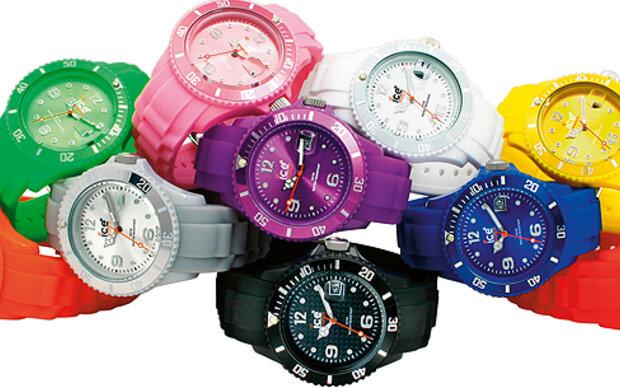 Lässige 'Ice Watch'-Uhren gewinnen