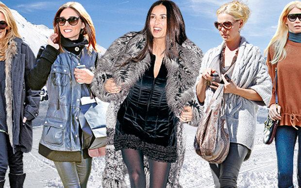 Best Dressed Stars: Winterliche Outfits