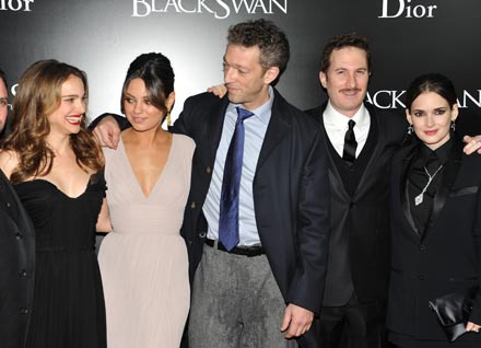 Natalie Portman, Mila Kunis, Vincent Cassel, Darren Aronofsky, Winona Ryder