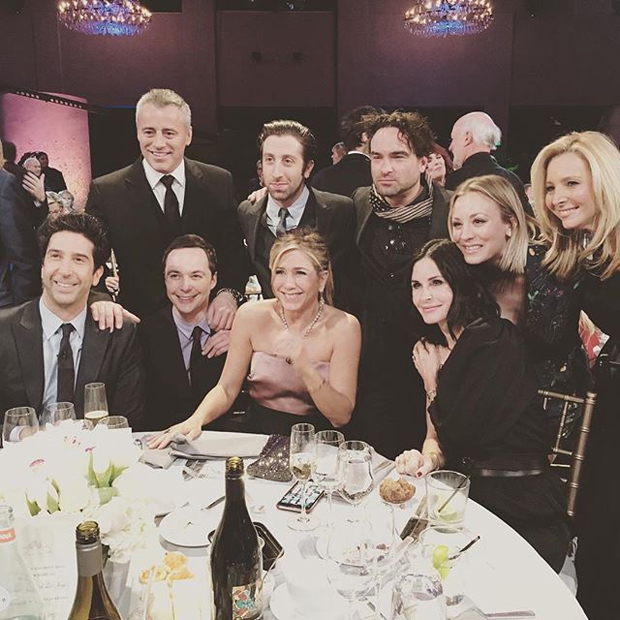 Friends tritt The Big Bang Theory
