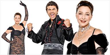 Christine Kaufmann Mike Galeli Dancing Stars