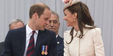 Herzogin Kate & Prinz William: Gedenkfeier in Belgien