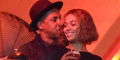 Beyoncé & Jay-Z: Turtelauftritt