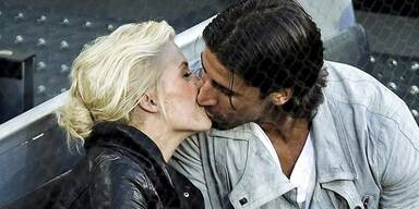 Lena Gercke: Hier küsst sie Sami Khedira