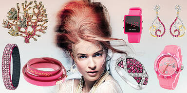 Pinker Rosa Schmuck