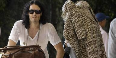 Katy Perry und Russel Brand: Ankunf in Indien