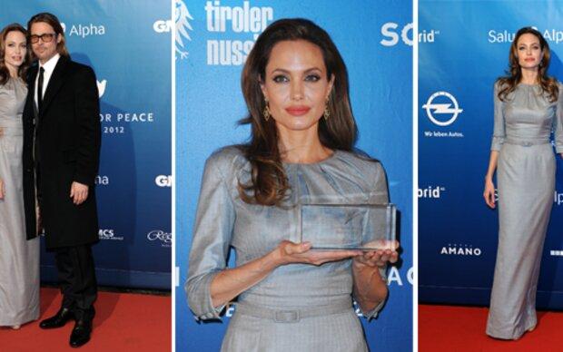 Angelina: Star der Cinema for Peace Gala