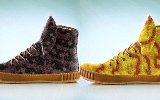 """""""Stachelrochen""""-Schuhe zum Selbst züchten."""