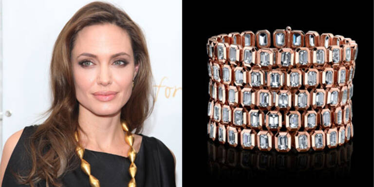 Angelina Jolies Schmuck-Designs als Ausstellung