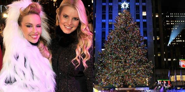 Kylie & Jessica in Weihnachtsstimmung