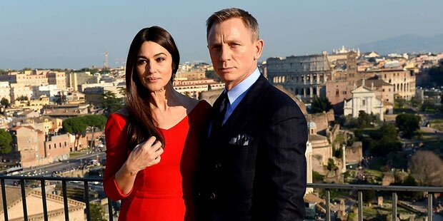 Startschuss für Bond-Dreh in Rom
