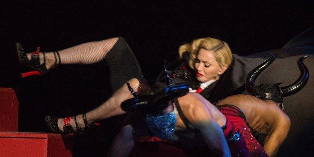 Madonna: Sturz entlarvt Playback
