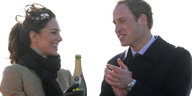 Kate und William: 1. offizieller Auftritt