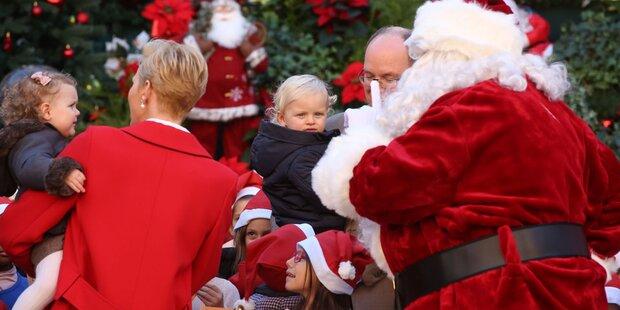 Monaco-Zwillinge bei Santa Claus