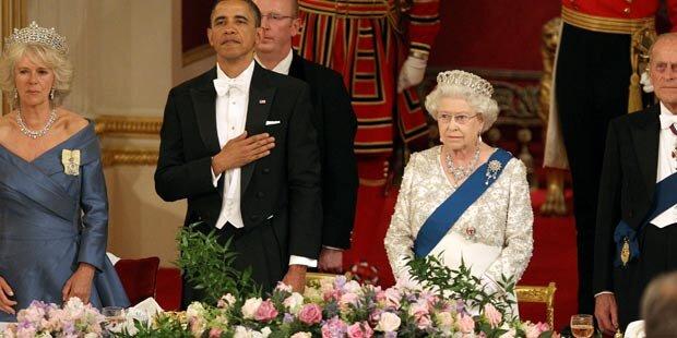 Barack Obama: Fauxpas bei der Queen
